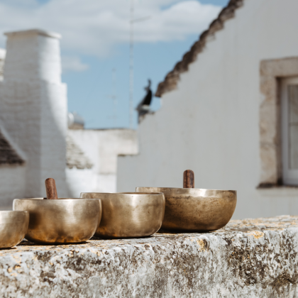 Trattamento benessere con campane tibetane